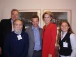 Rev Jim Barr, Harold Zwier, Micha Kurz, Senator Michaelia Cash, Sahar Vardi