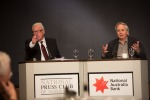 Prof Ilan Pappe at the National Press Club - supported by APAN.