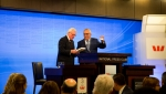 Dr Fayyad being granted a membership of the National Press Club